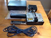 Kenwood KDC M4524 head unit and 10 CD changer