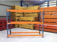 DEXION SPEEDLOCK HEAVY DUTY COMMERCIAL WAREHOUSE LONGSPAN PALLET RACKING UNIT