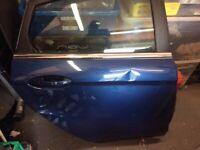 Ford Fiesta mk 7 rear door