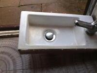 Hand wash sink small