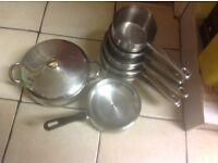 Saucepans / casserole pan stainless steel