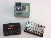 Synthesizer goodies - meeblip, Volca, etc