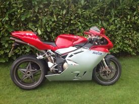 Ducati /MV Agusta F4 750 (2002) new front tyre and full years MOT.