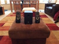 Logitech speakers and woofer