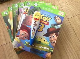 Toy Story Leap Frog tag reader bundle