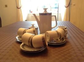 Vintage Winterling Bavarian 15 piece Coffee Set