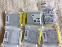 Brother LC970 Printer Cartridges (5) - genuine