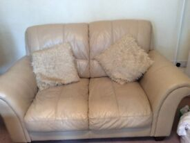 2seater leather sofa in good condition.collection only