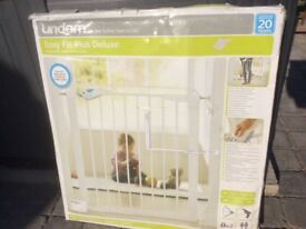 Brand new baby gate, still in box