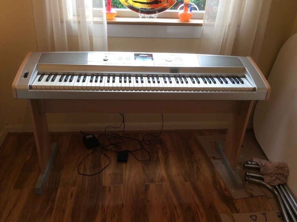 Yamaha dgx 505 88key portable grand digital piano for Yamaha dgx 200 portable grand keyboard
