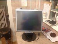 "NEC MultiSync LCD175M 17"" LCD Monitor 1 x VGA, 1 x DVI-D"