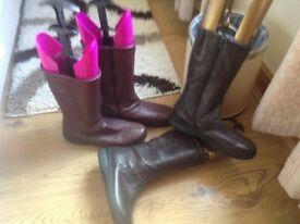 Hotter high boots