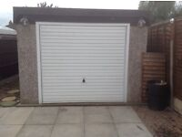 Concrete sectional garage, 25ft X 10ft
