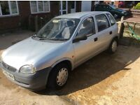 Bargain of the month Vauxhall CORSA 1.2. 12 months mot £195
