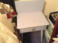 Stag Minstrel bedside table with drawer