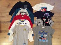 Large bundle of boy clothes x9 items age 3-4 year old in excellent condition.