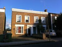 2 bed unfurnished flat, on first/top floor of converted victorian end terrace house, East Dulwich.