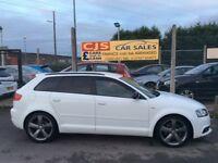 Audi A3 2.0 tdi diesel Quattro 2011 one owner 40000 fsh ful year mot mnt car fully serviced may px