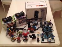 XBOX 360 with Kinect, 250 GB, 23 Games, including Disney Infinity, Lego Dimensions, and Skylanders