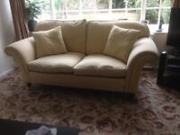 2 MATCHING LAURA ASHLEY MORTIMER 2 SEATER SOFAS