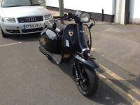 SCOMADI TL 125cc FITTED WITH 170CC KIT RIDES GREAT LOOKS FANTASTIC 123 MONTHS MOT 6 MONTHS WARRANTY