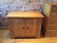 Solid oak handmade dresser base