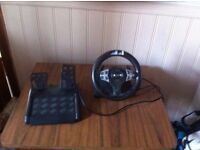 ps2 pedal and steering wheel