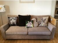 2 Stylish Light Taupe Sofas Bought From Next. Excellent Condition. Will Sell Seperately.