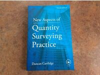 New Aspects of Quantity Surveying Practice- Duncan Cartlidge ISBN: 9780415580434