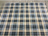Tartan rug, brand new, top quality 6 ft 6 x 5 ft bargain £40