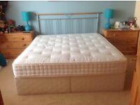 Divan bed 6ft Queen size