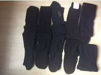 10 pairs of black socks nearly all new good quality