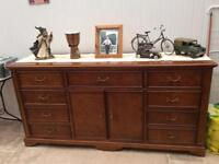 For Sale, very good quality walnut sideboard