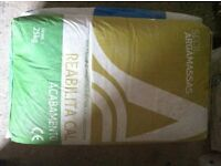 LIME PLASTER/PLASTERING PRODUCTS SURPLUS TO JOB. **50+% OFF RRP**