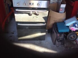 built in double electric oven