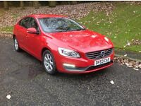 Volvo S60 D4 181hp 6sp, sat nav new brakes FVSH zero road tax