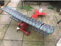 Rc plane Fokker d7