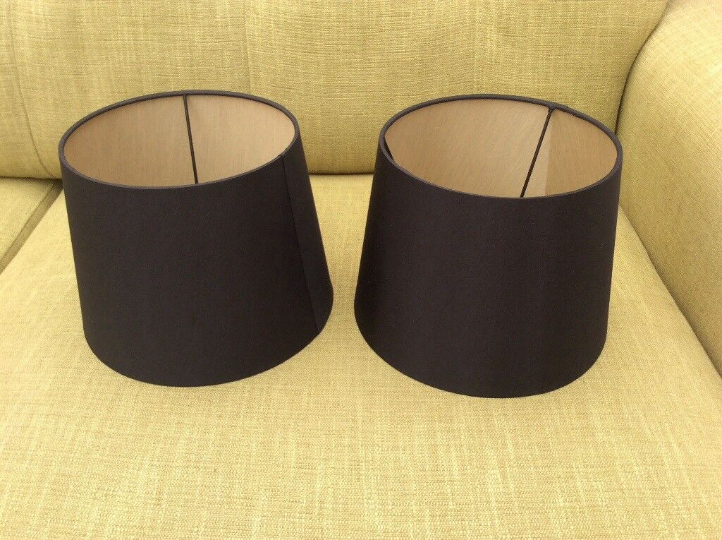 Marks And Spencer Black Lampshades With