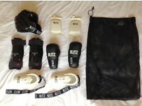 Full Martial Arts Sparring Kit, 10 Piece (Suitable for age 11-15)