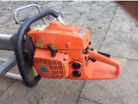 Husquavan chainsaw and milling equipment