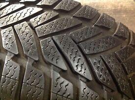 Winter tyres 205/55/16/ 7.6mm/ Dunlop/ unit 90 fleet road ig117bg