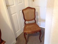 Antique, French Dining Chairs x 6