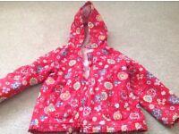 Girls coat age 4