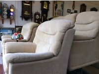 G plan malvern 3 seater and 2 chairs excellent condition free delivery