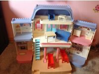 Fisher Price doll house 60 cm high