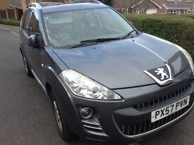 Peugeot 4007 2.2 HDI SE. 5dr, manual, 7 seater , Diesel, 4WD, SUV