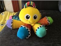 Lamaze octopus baby toy