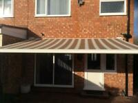 Electric garden Awning