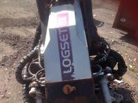 logset 8x havester head 2012