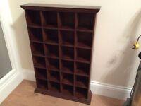 Cd storage case / shelving rubber Wood?